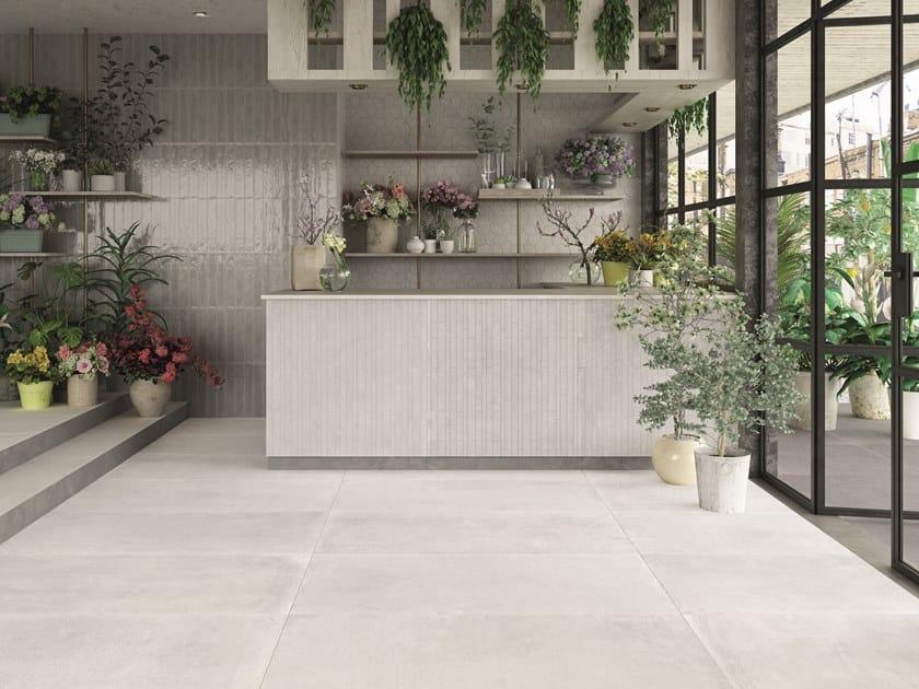 Indoor/outdoor wall/floor tiles with concrete effect CONCRETE by Ceramica Rondine