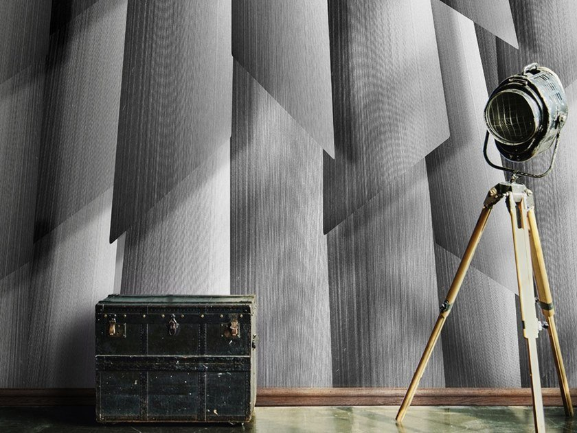 Industrial style Ecological washable PVC free wallpaper CONCRETE STORM by Wallpepper