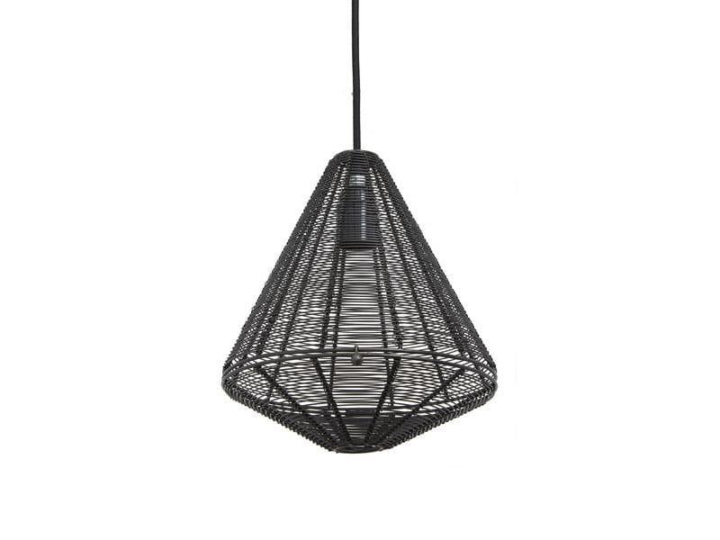 Lampada Ferro In Sospensione Cage A Cone Industville cJKlF1