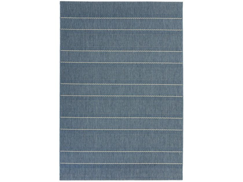 Machine made outdoor rug CONEY BLUE by Sirecom Tappeti