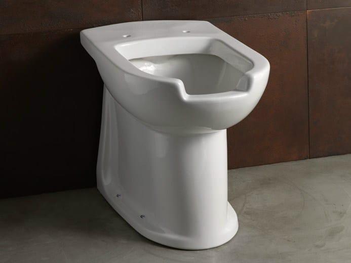 Ceramic toilet CONFORT - CRA OPEN   Toilet by Alice Ceramica