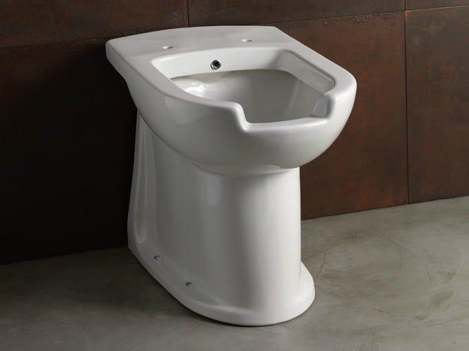 Ceramic toilet with bidet CONFORT-CRA OPEN | Toilet with bidet by Alice Ceramica
