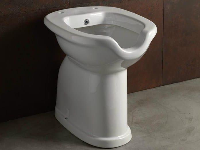 Ceramic toilet with bidet CONFORT OPEN   Toilet with bidet by Alice Ceramica