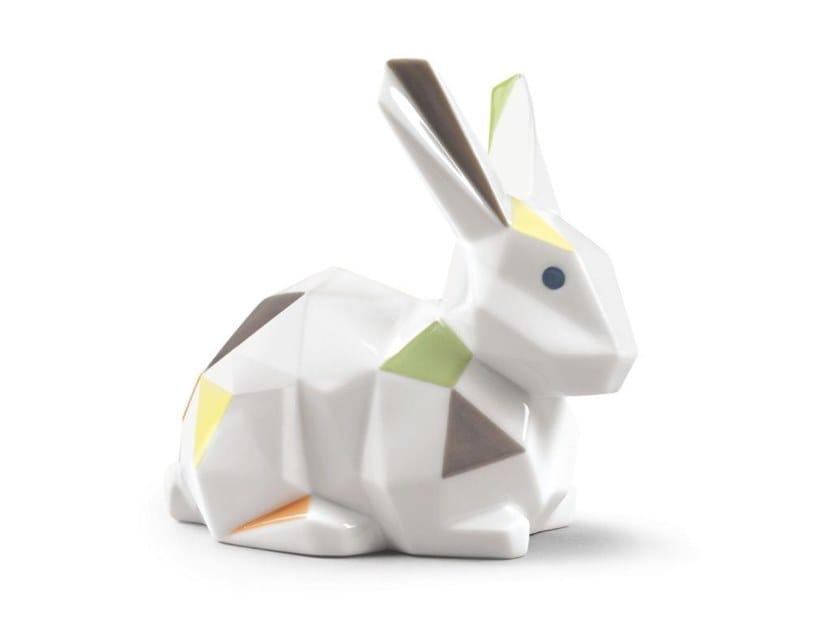 Porcelain decorative object RABBIT by Lladró