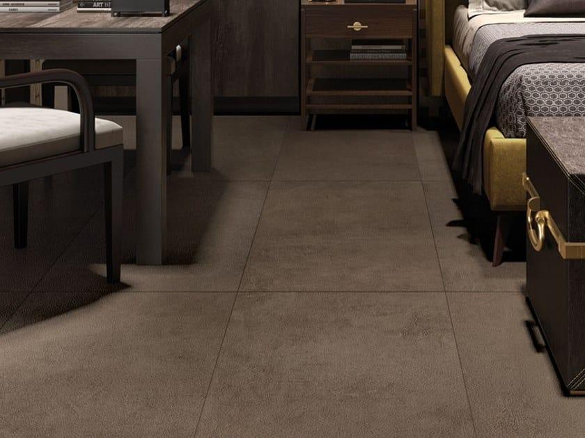Pavimento/rivestimento in gres porcellanato a tutta massa effetto cemento CONKRETA&MUKKA CP by LaFaenza