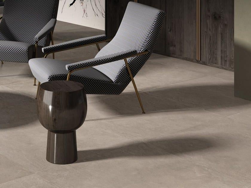 Pavimento/rivestimento in gres porcellanato a tutta massa effetto cemento CONKRETA&MUKKA PG by LaFaenza