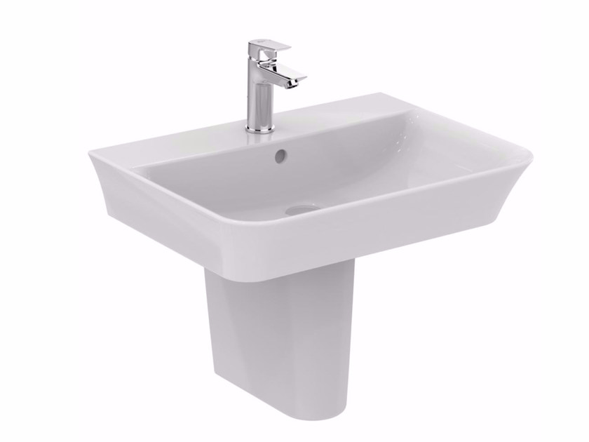 Lavabo suspendu en céramique CONNECT AIR 60 cm - E0355 by Ideal Standard