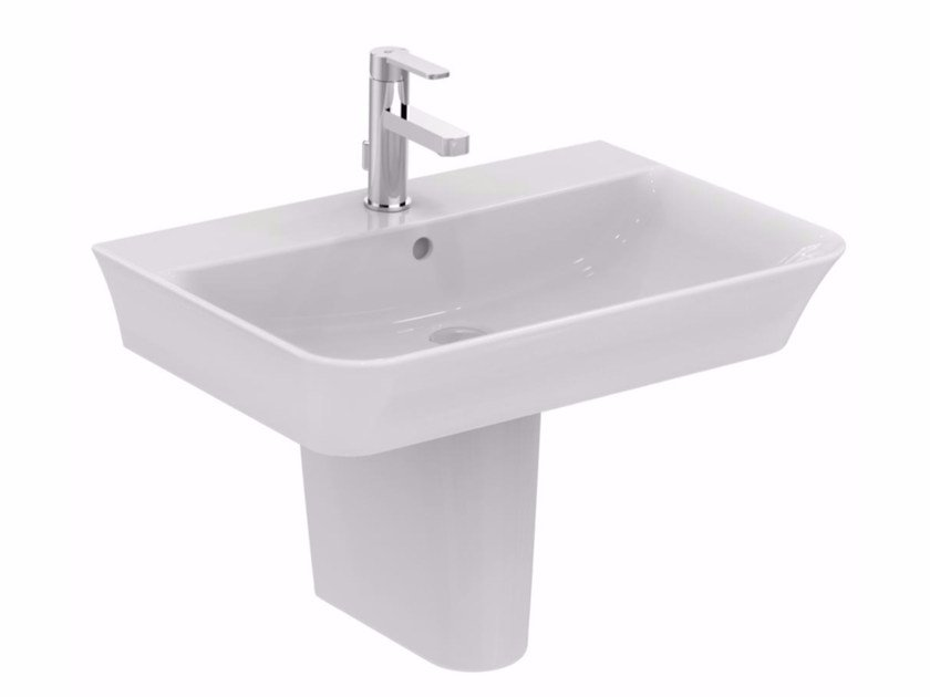 Lavabo sospeso in ceramica CONNECT AIR - 70 cm by Ideal Standard