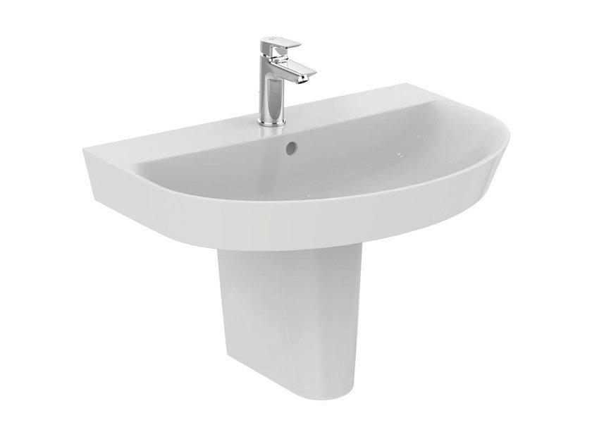 Lavabo suspendu sur semi-pied CONNECT AIR - E1349 by Ideal Standard