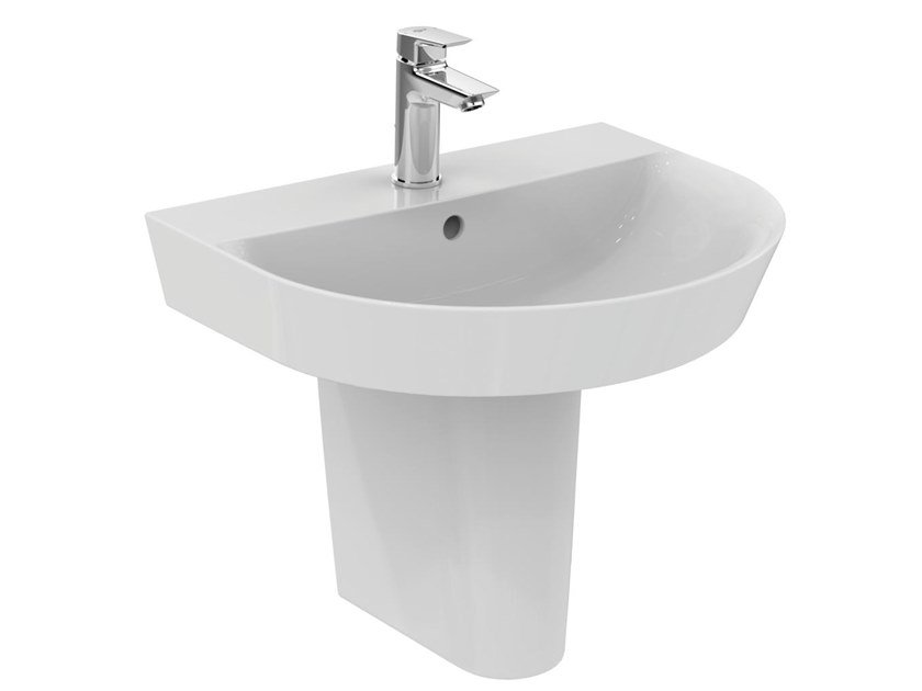 Lavabo suspendu sur semi-pied CONNECT AIR - E1379 by Ideal Standard
