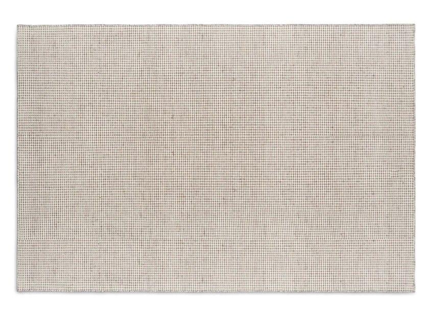 Tappeto a tinta unita rettangolare in lana CONRAD by Calligaris
