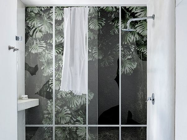 Bathroom wallpaper CONSERVATORY by Wall&decò