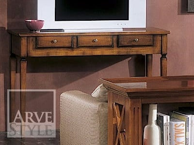 Solid wood console table with drawers GIOVE | Console table by Arvestyle