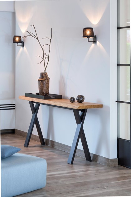Rectangular wood veneer console table forest oak console table rectangular wood veneer console table forest oak console table by joli geotapseo Choice Image