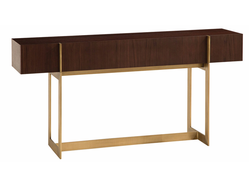Rectangular console table with drawers TROCADERO | Console table by ROCHE BOBOIS