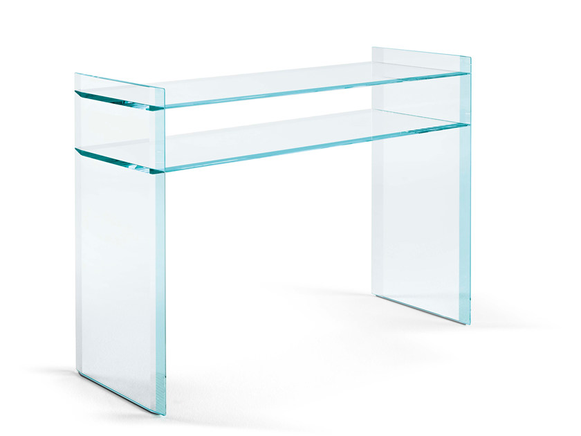 Glass Console Table QUILLER | Console Table By Tonelli Design