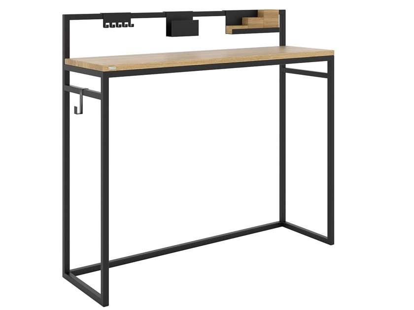 Steel and wood console table / hallway unit MS. COSY   Console table by take me HOME