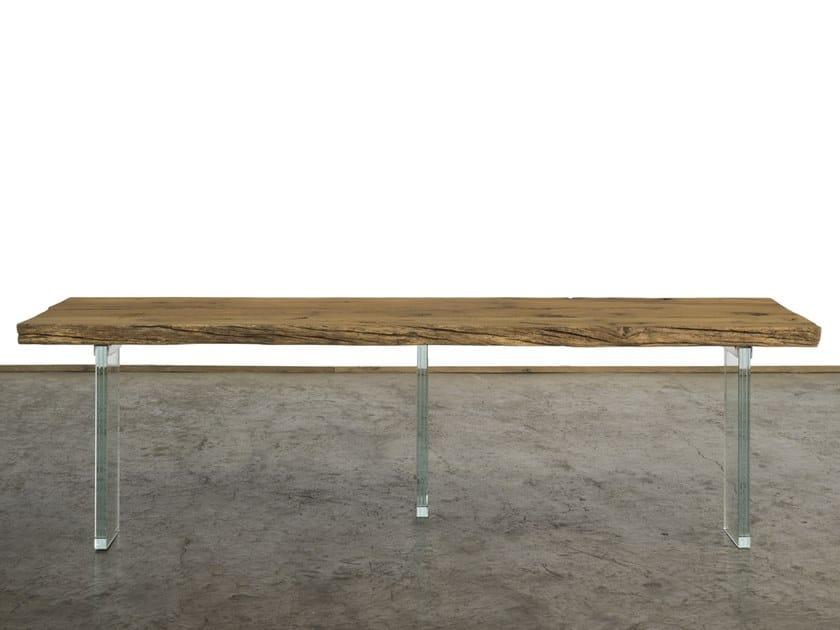 Consolle rettangolare in legno di recupero CONSOLLE - A&B ...