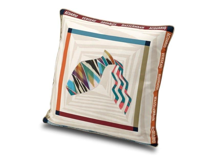 Cuscino in raso di cotone stampa digitale CONSTELLATION   Cuscino by MissoniHome