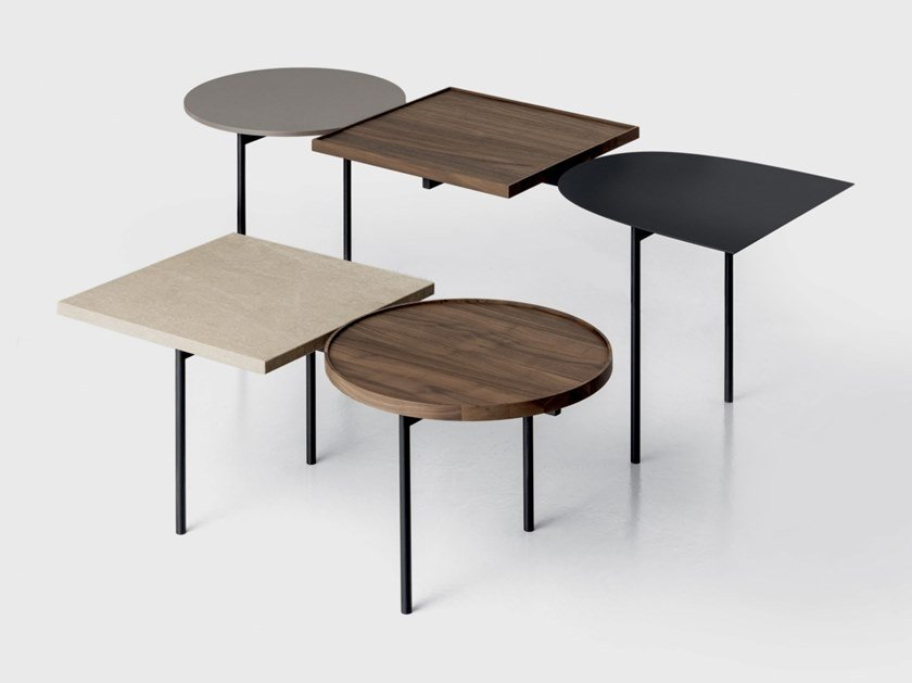 Lacquered coffee table CONSTELLATION | Rectangular coffee table by Kristalia