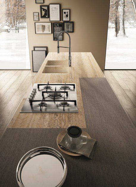 CONTEMPORA   Kitchen with peninsula Contempora Collection By Aster ...