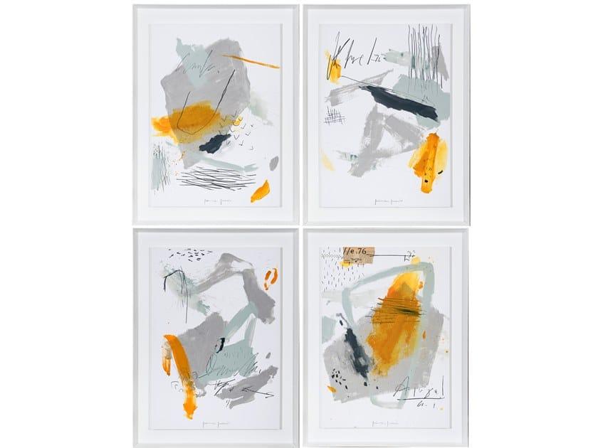Wooden Painting Contemporáneo I, II, III, IV by NOVOCUADRO ART COMPANY