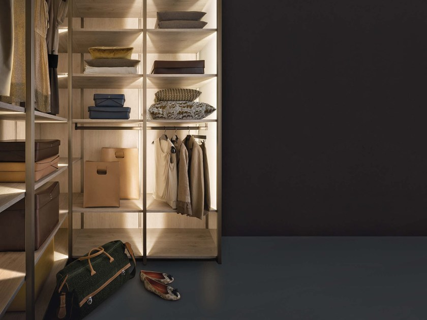 Sectional walk-in wardrobe CONTINUUM | Walk-in wardrobe by Natevo