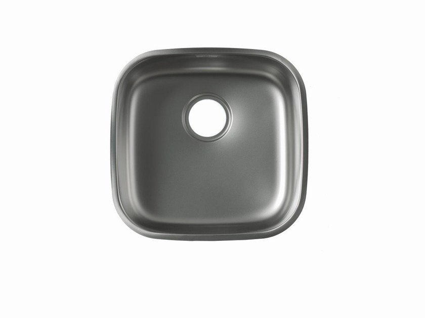 Single stainless steel sink CONTRACT by Systempool