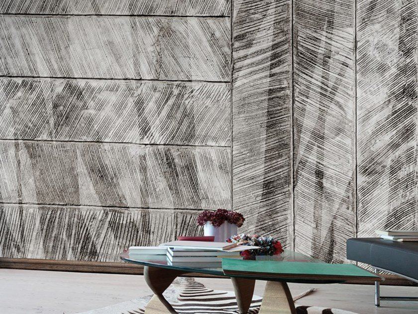 Industrial style Ecological washable PVC free wallpaper CONTRAPPOSTE by Wallpepper
