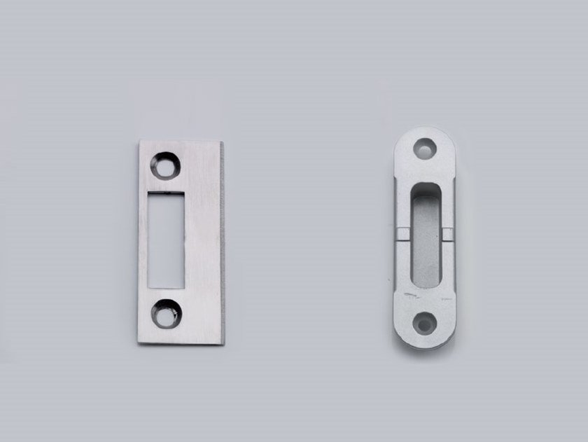 Door fittings Strike Plate by Metalglas Bonomi