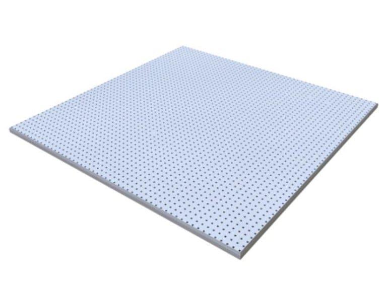 Gypsum ceiling tiles CONTUR MICRO M1 by Knauf Italia