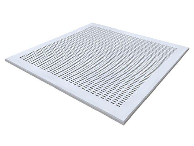 Gypsum ceiling tiles CONTUR TANGENT T1 by Knauf Italia