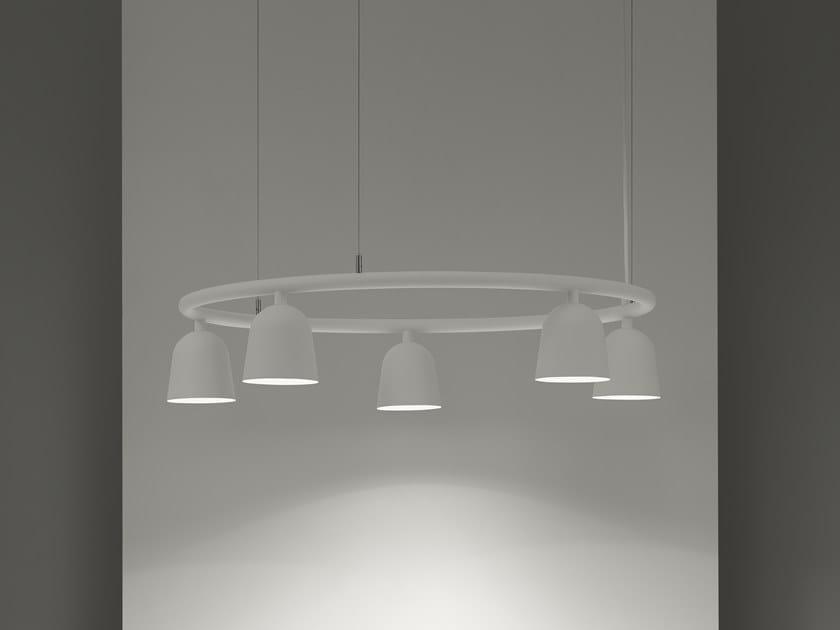 Lampada a sospensione a LED in alluminio CONVEX CIRCLE by ZERO
