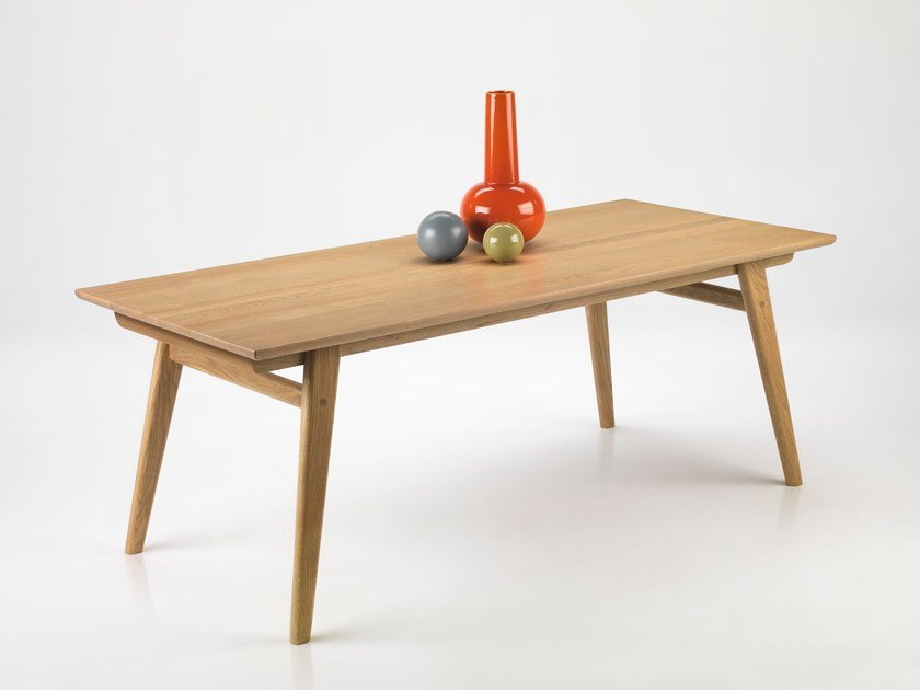 Extending oak table CONVIVIUM by L'Ottocento