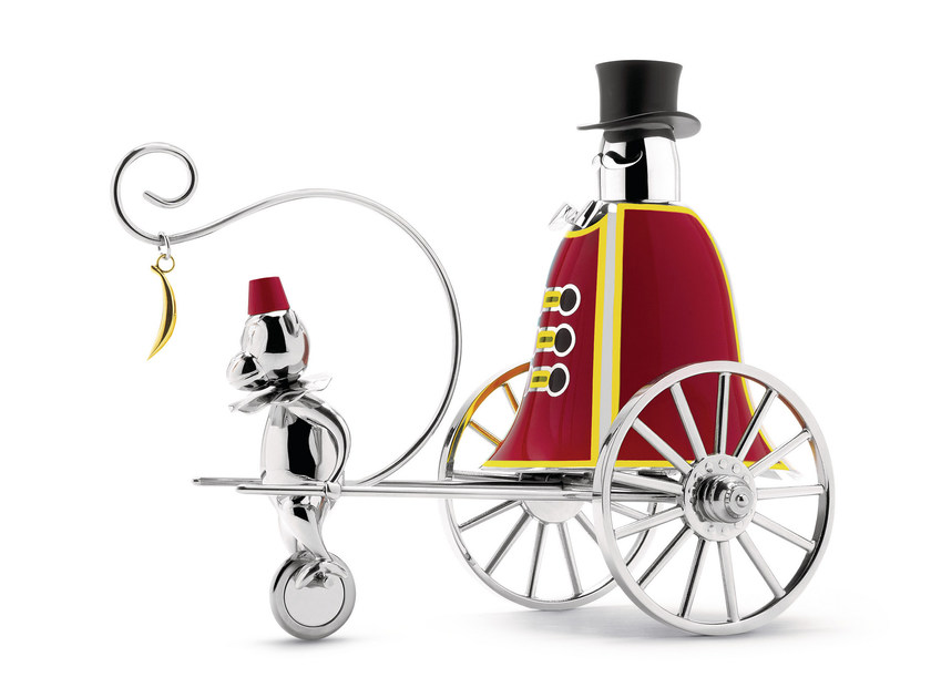 Call Bell polished 18/10 stainless steel THE RINGLEADER by Alessi