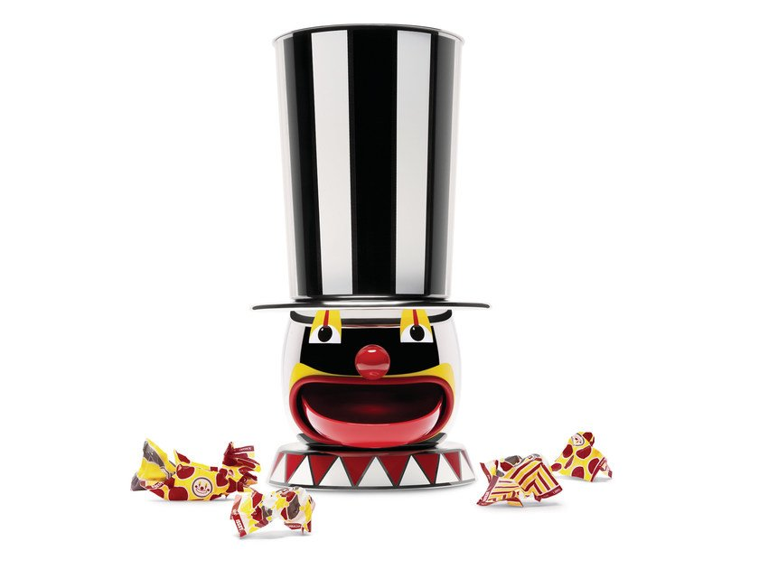 Candy dispencer polished 18/10 stainless steel THE CANDYMAN by Alessi