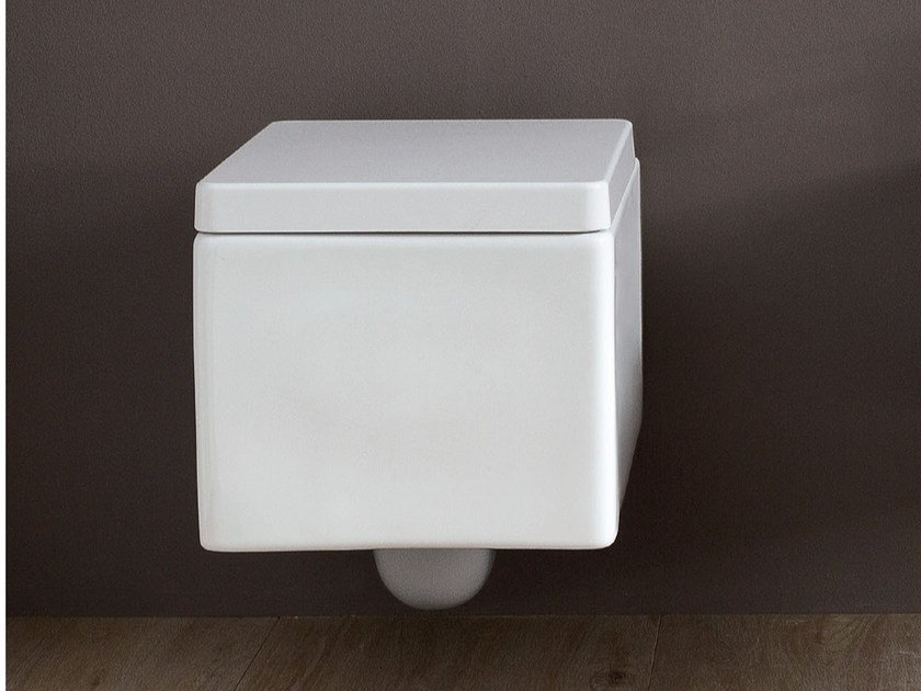 Wall-hung ceramic toilet COOL | Wall-hung toilet by Nic Design