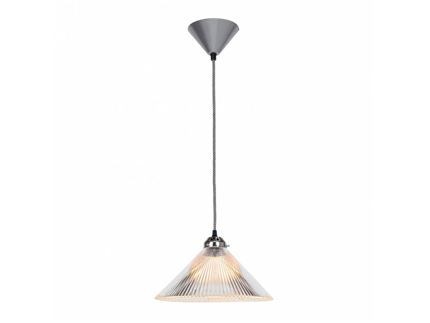 Glass pendant lamp with dimmer COOLIE PRISMATIC by Original BTC