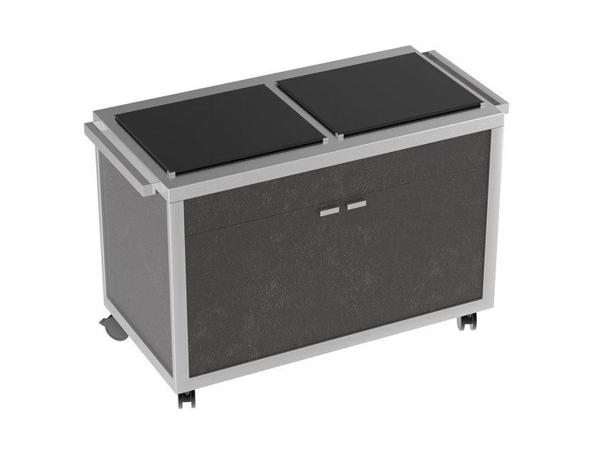 Mobile cooling station Cooling tops sation by La tavola
