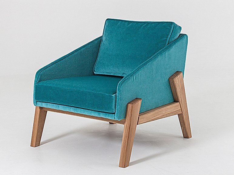 Fabric easy chair with armrests COOPER TUB CHAIR | Fabric easy chair by Liqui Contracts