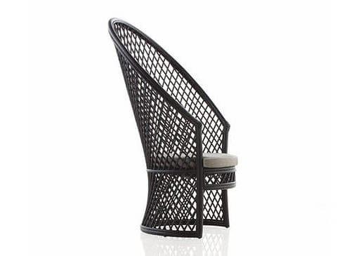 Contemporary style garden aluminium easy chair COPA by EXPORMIM