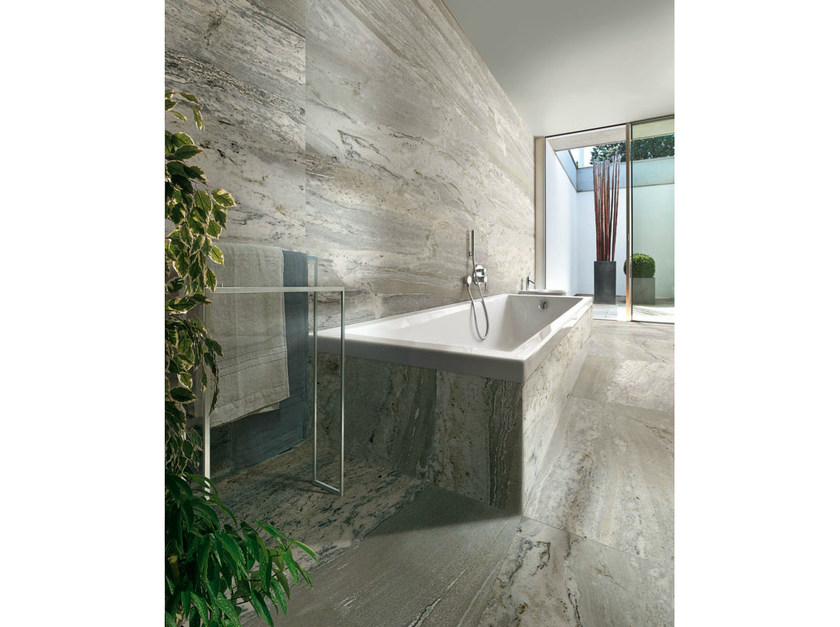Porcelain stoneware wall/floor tiles with marble effect COPACABANA DUKE by AVA Ceramica