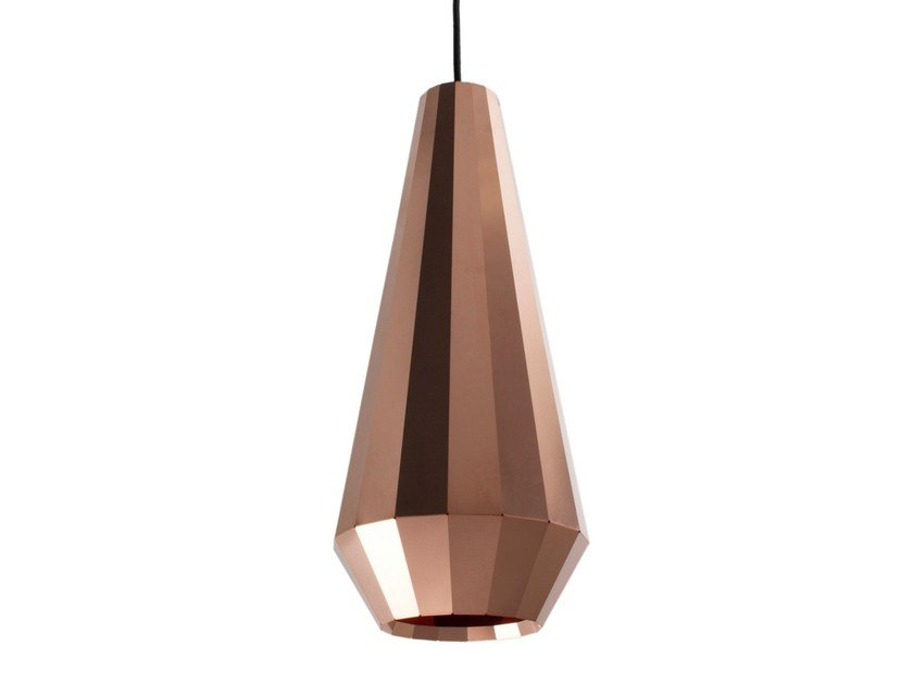 Handmade copper pendant lamp COPPER LIGHT CL 16 by Vij5