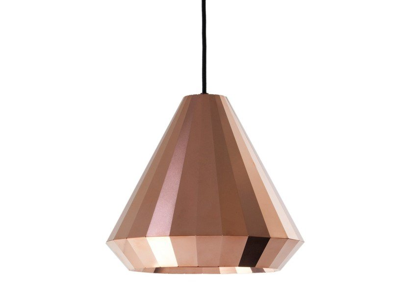 Handmade copper pendant lamp COPPER LIGHT CL 25 by Vij5