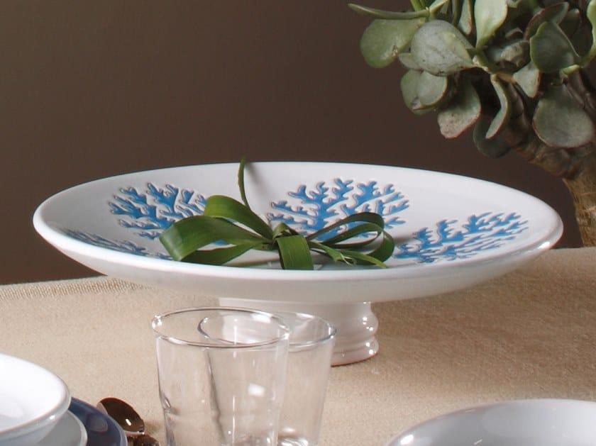 Round ceramic tray CORALLO | Tray by Cerasarda