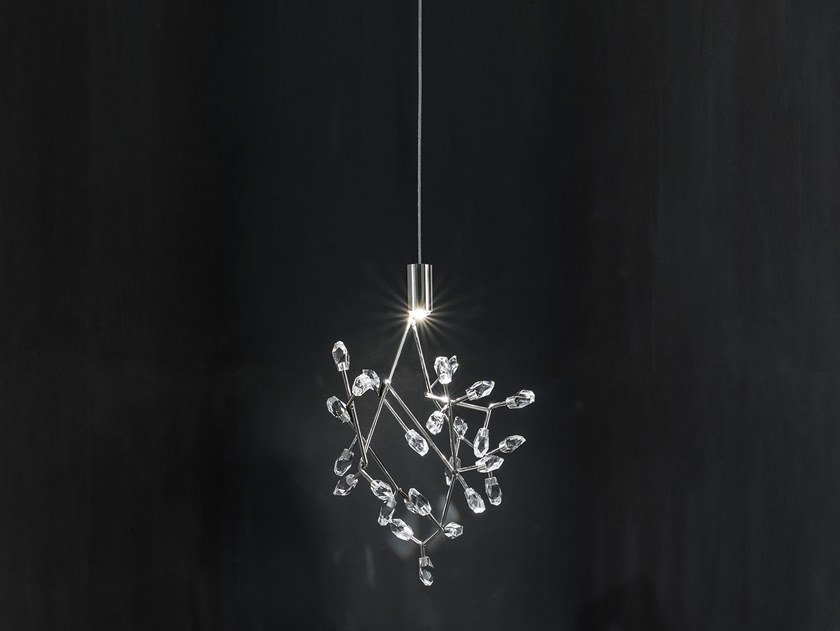 LED metal pendant lamp CORE P22 by TERZANI