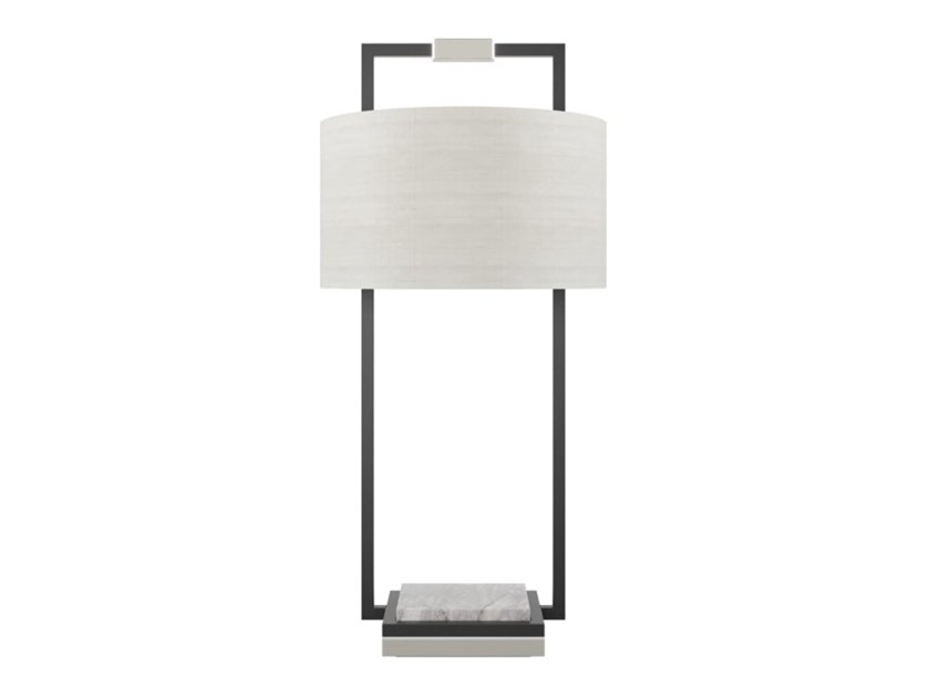 Indirect light iron table lamp CORFU by FRATO