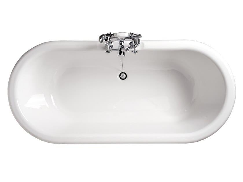 Oval fiberglass bathtub CORINTO   Bathtub by Devon&Devon