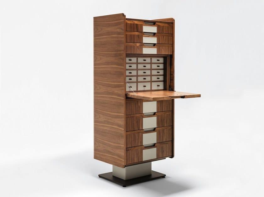 Wooden secretary desk / chest of drawers CORIUM | Wooden chest of drawers by GIORGETTI