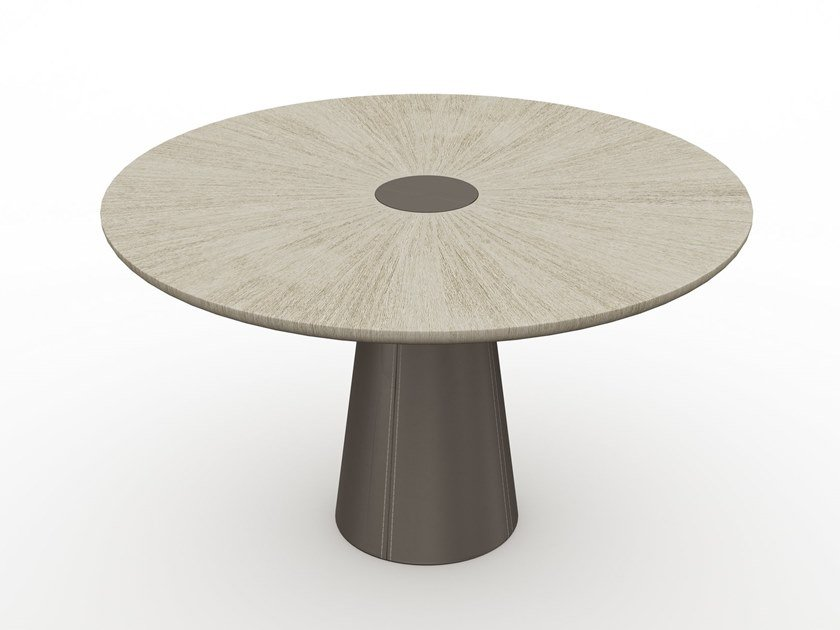 Round wooden table CORNEILLE | Table by HUGUES CHEVALIER